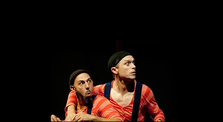 Jaron and Slater in the award-winning Submarine Show